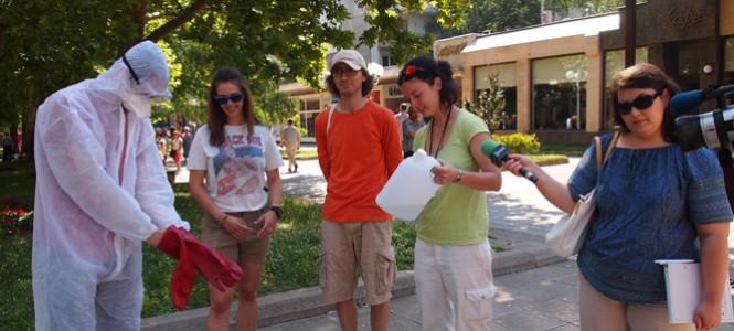 ЕкоЦентрик представя образователния тур КонсУмувай в 5 града